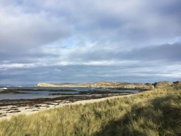 From Plaide Mhor toward Dun Ghallain